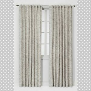 #1125 New Filtering Curtain Panel Project 62 Gray